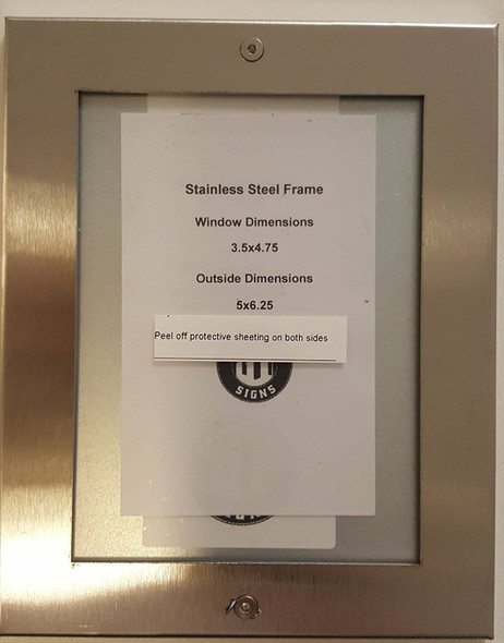 Elevator Inspection Frame stainless Steel