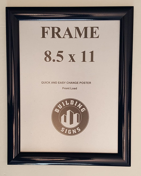 Blue Snap Poster Frame/ Picture Frame