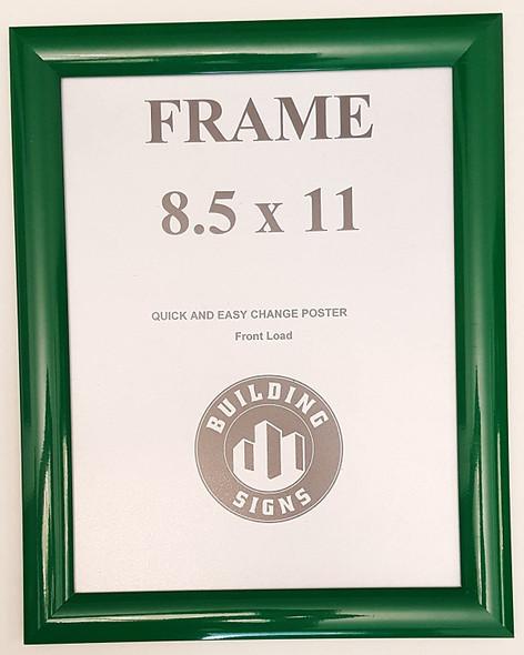 Green Snap Poster Frame/Picture Frame/Notice Frame Front Load Easy Open Snap Frame  Building Frame