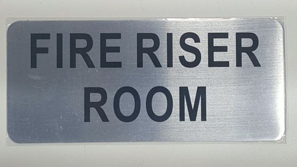 FIRE RISER ROOM  HPD SIGN