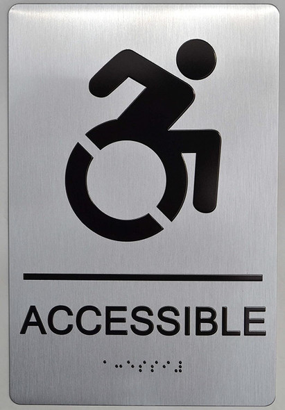 NYC Accessible Sign -
