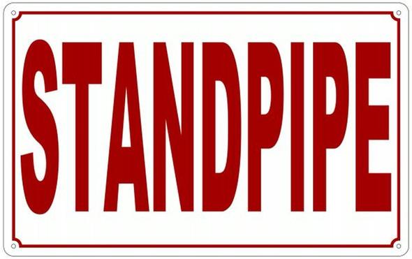 Standpipe Signage