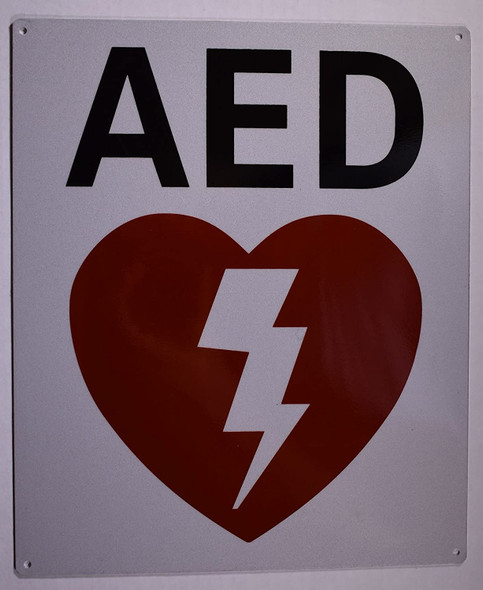 Automated External Defibrillator SIGNAGE