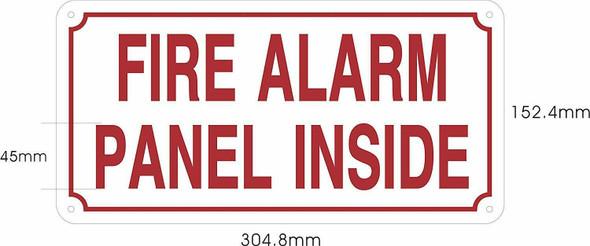 FIRE Alarm Panel Inside Signage
