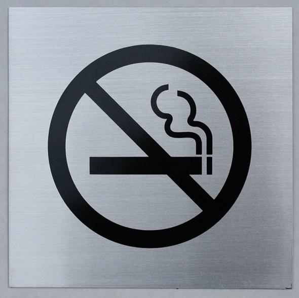 No Smoking Symbol Signage