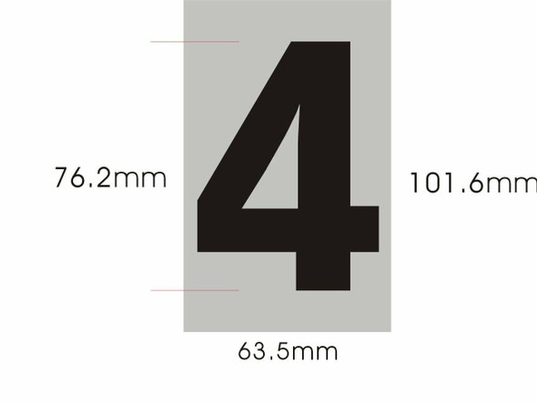 Apartment Number  Four (4)