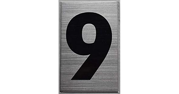 Apartment Number  - Nine (9)