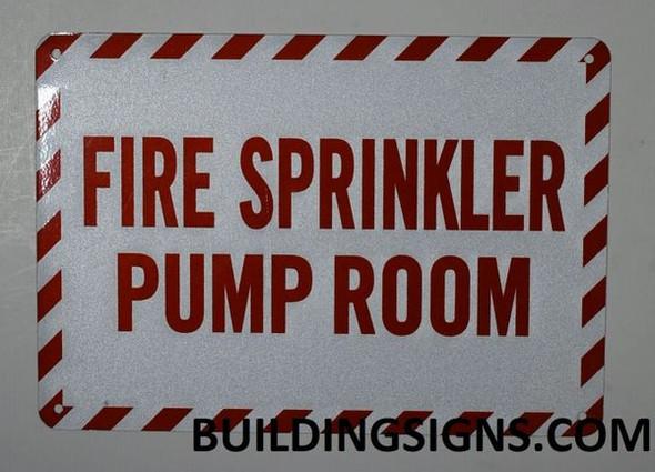 FIRE Sprinkler Pump Room Sign
