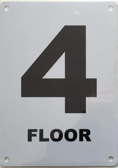 Floor number Signage