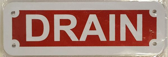 DRAIN Signage
