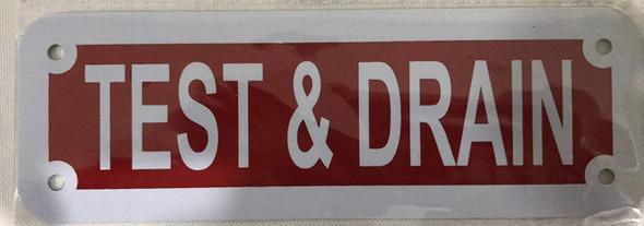 TEST & Drain