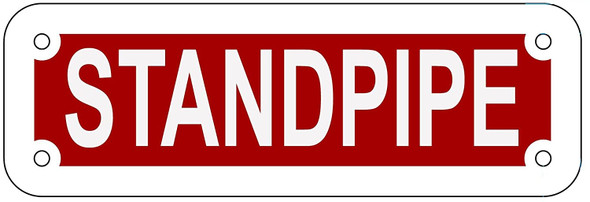 STANDPIPE Sign