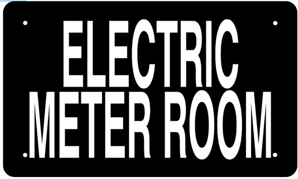 ELECTRIC METER ROOM SIGN