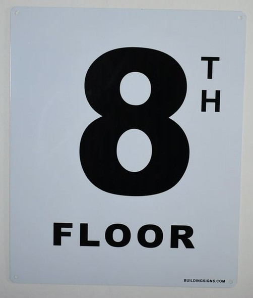 8th Floor Sign-Grand Canyon Line