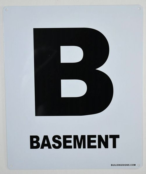 Basement Floor Signage-Grand Canyon Line