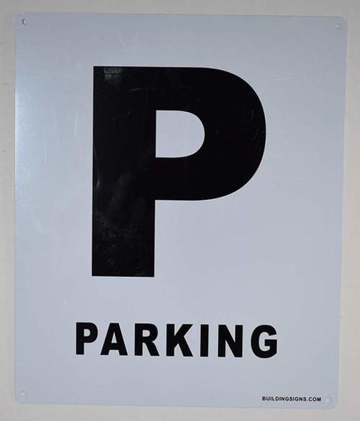 Parking Floor Number Signage-Grand Canyon Line