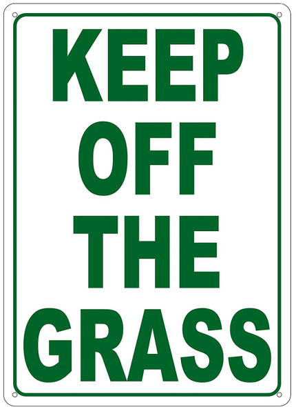 KEEP OF THE GRASS Sign