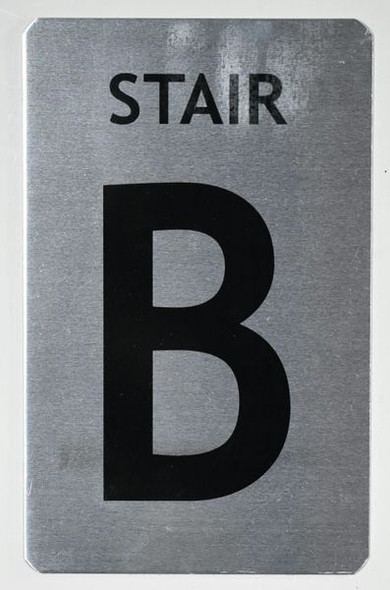 Stair B Signage
