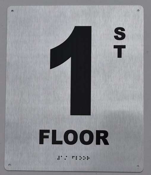 ada floor number sign