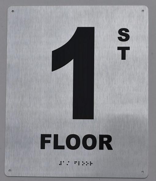 1ST Floor Sign ada
