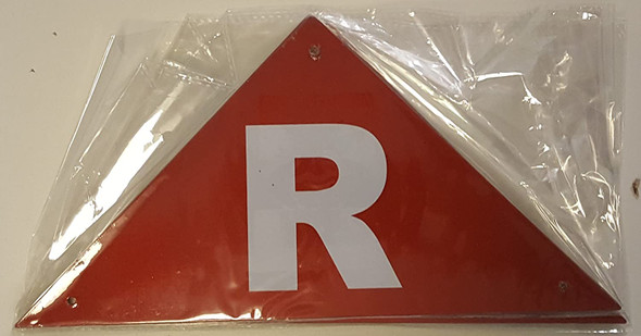 State Truss Construction Signage-R Triangular Signage