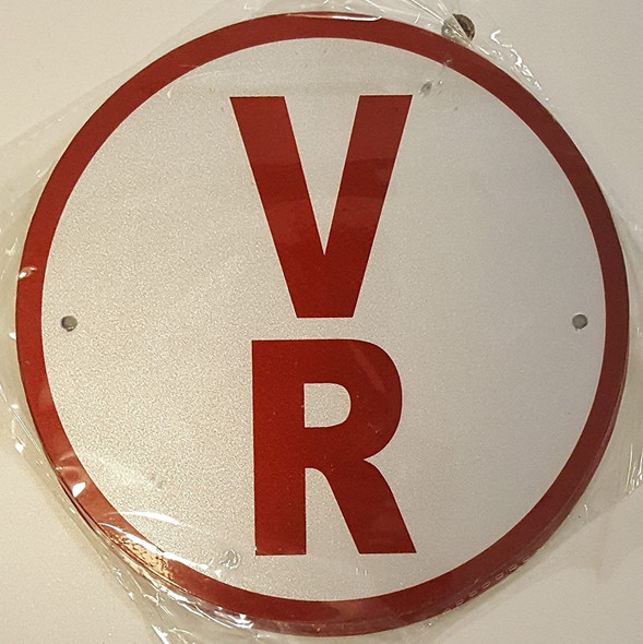 V-R Floor Truss Circular Sign-New York