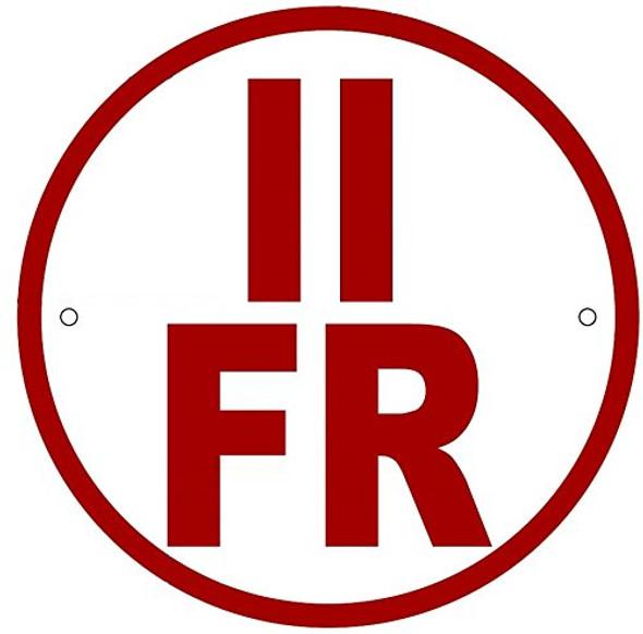 II-FR Floor Truss Circular Sign