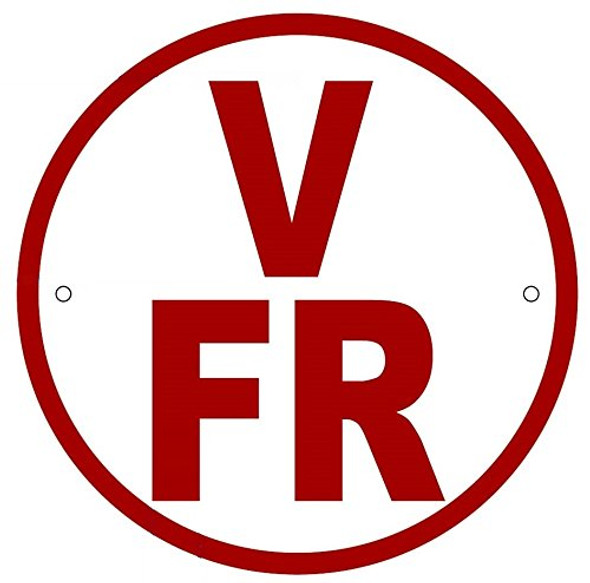 V-FR Floor Truss Circular Sign-New York Truss Construction Sign