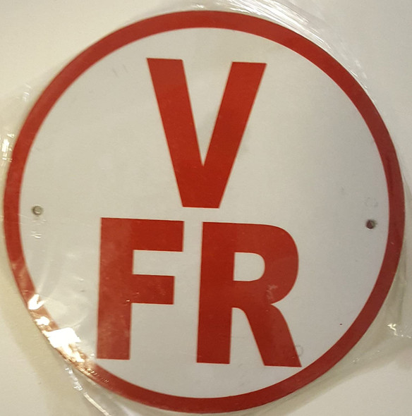 V-FR Floor Truss Circular Signage-New York Truss Construction Signage