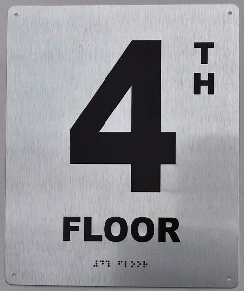 ada floor number sign