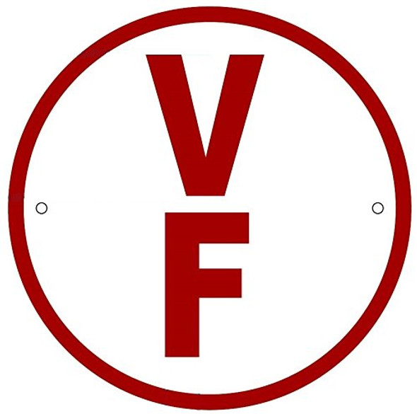 V F Floor Truss Circular Sign