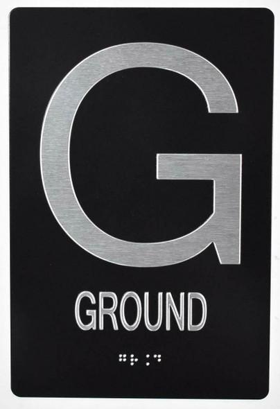 Ground Floor Sign - ADA Sign.