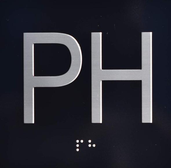 PH Elevator Jamb Plate Sign
