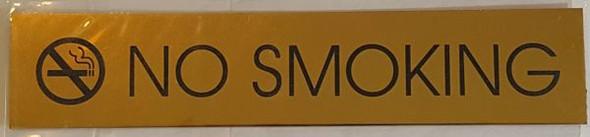NO SMOKING SIGN for Building