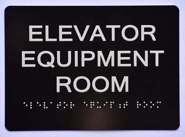 Elevator Equipment Room   The Sensation line -Tactile Signs   Braille sign