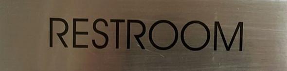 RESTROOM HPD SIGN