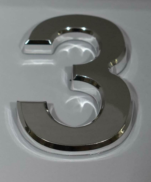2 PCS - Apartment Number Sign/Mailbox Number Sign, Door Number Sign.