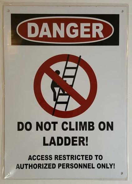 DANGER  SIGN for Building