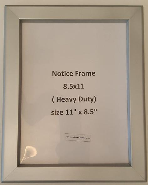 Notice Frame 8.5 x 11