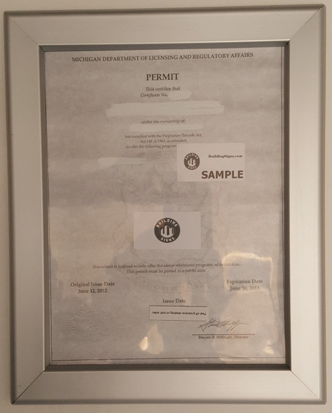 Permit Frame