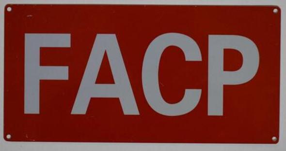 FACP Signage