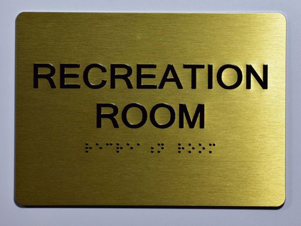 RECREATION ROOM SIGN for Building