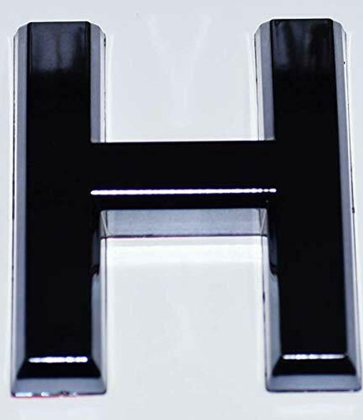 1 PCS - Apartment Number Sign/Mailbox Number Sign, Door Number Sign. Letter H