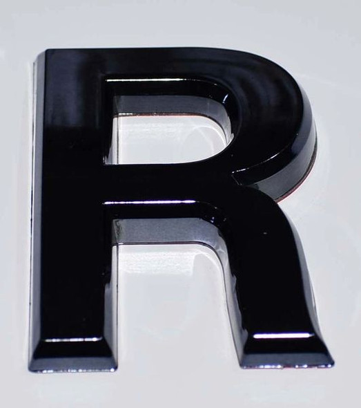 1 PCS - Apartment Number Sign/Mailbox Number Sign, Door Number Sign. Letter R