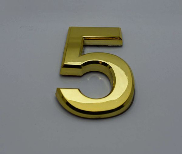 Apartment Number Number 5 Gold