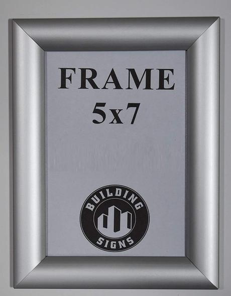 Elevator Certificate Visits Frame 5x7