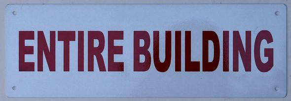 Entire Building Signage