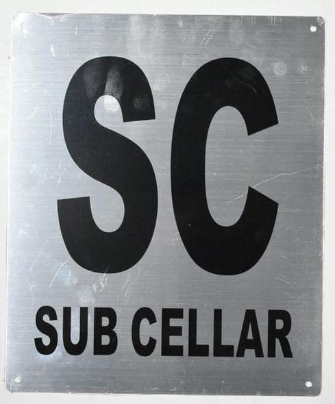Cellar Sign Silver,