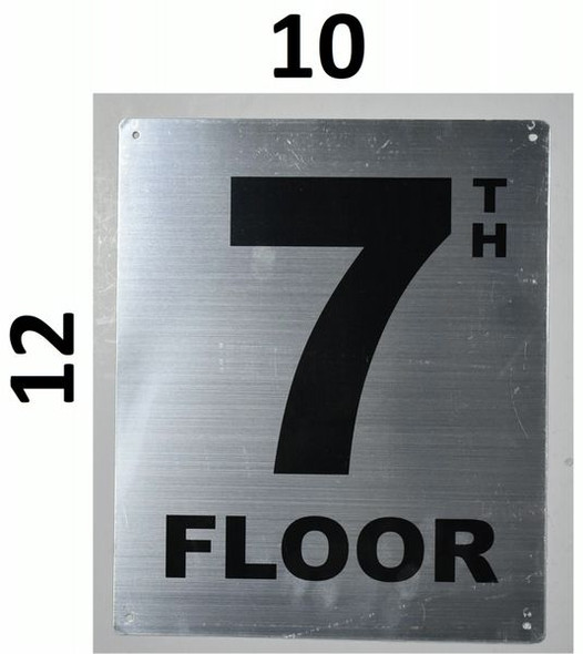 7TH Floor Sign