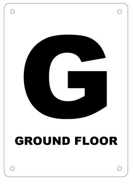 Ground Floor Sign